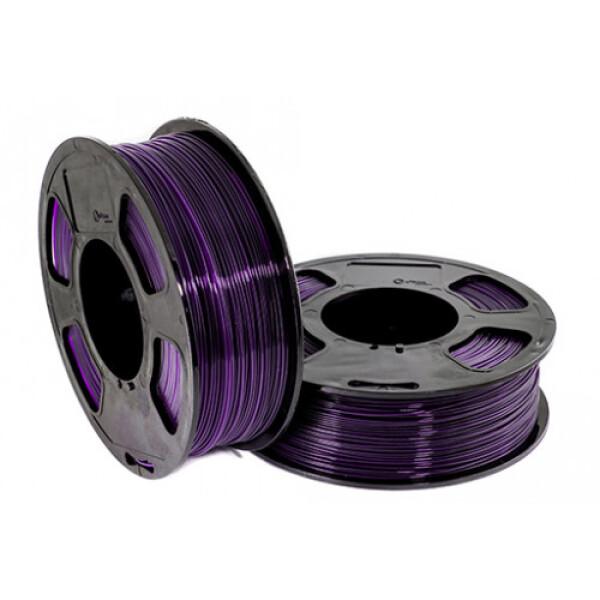 Пластиковая нить U3Print GF PETG 1,75 мм 1000 г (фиолетовый, светопропускающий)