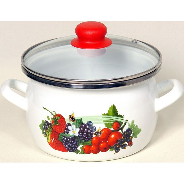 Кастрюля Сантэкс 1-2415112 (ягоды)