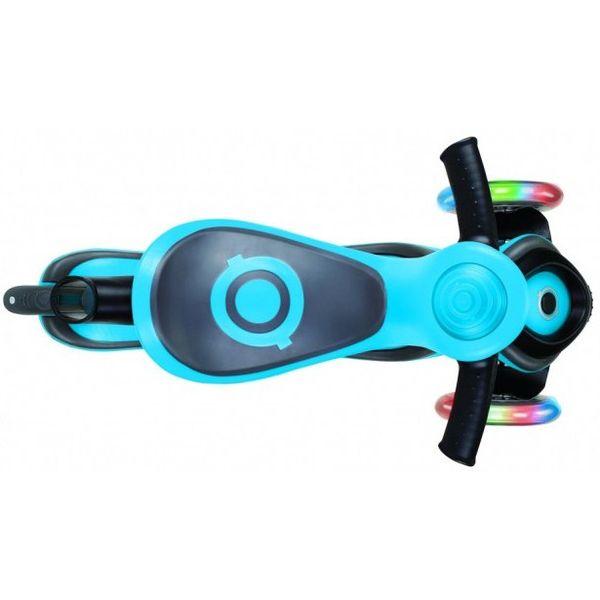 Самокат GLOBBER Evo 5 в 1 Lights (голубой)