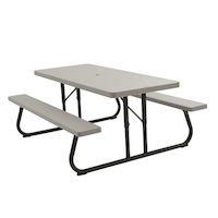 270x270-Стол для пикника LIFETIME 90022119 183*76см (2 скамьи)