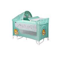 270x270-Манеж-кровать LORELLI San Remo 2 Plus Rocker Green Indians