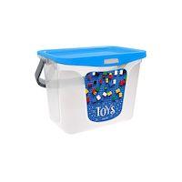 270x270-Емкость для игрушек BEROSSI Toys 6 л голубая лагуна