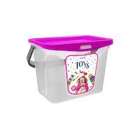 270x270-Емкость для игрушек BEROSSI Toys 6 л фуксия