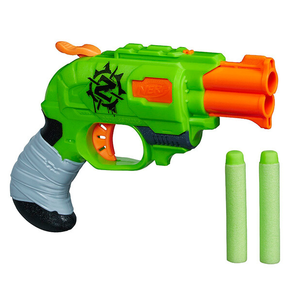 Игрушка HASBRO Nerf Бластер Зомби Страйк Двойная Атака A6562