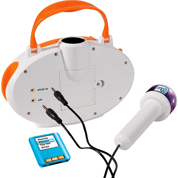 Микрофон на стойке Simba с разъемом для МР3, 10 6838615