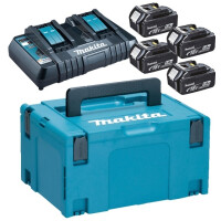 270x270-Набор MAKITA: Комплект аккумуляторов BL1850B + зарядное устройство DC18RD в кейсе (198312-4)