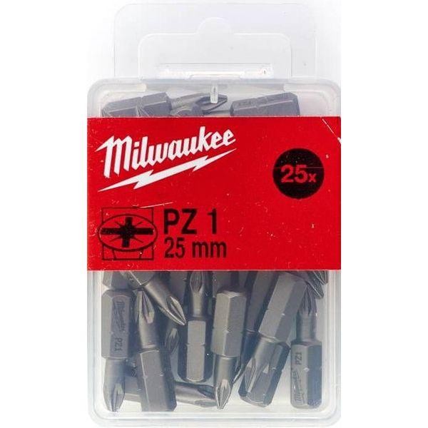 Бита MILWAUKEE PZ 1 25 мм (25 шт.) 4932399589