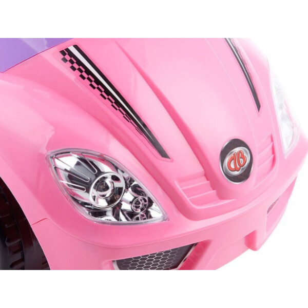 Автомобиль-каталка CHILOKBO Deluxe Mega car 382 (розовый)