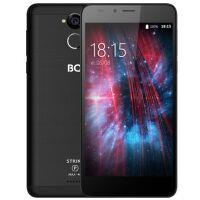 Смартфон BQ Strike Power Max 4G Черный Шлифованный (BQ-5510)