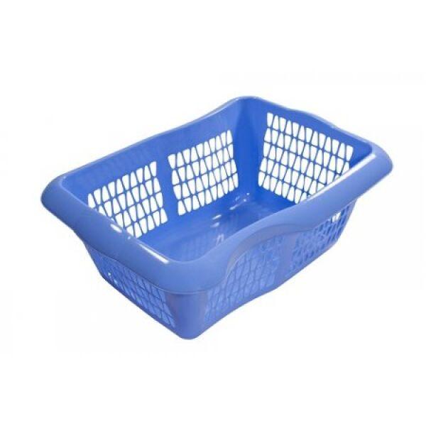 Корзина для чистого белья  пластмассовая МАРТИКА Молетта (С704)