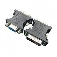 270x270-Переходник CABLEXPERT A-DVI-VGA-BK
