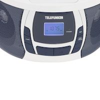 Магнитола TELEFUNKEN TF-CSRP3498BBLW (белый с синим)