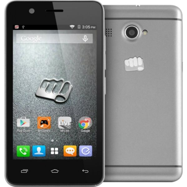 Смартфон MICROMAX BOLT Q326 Grey