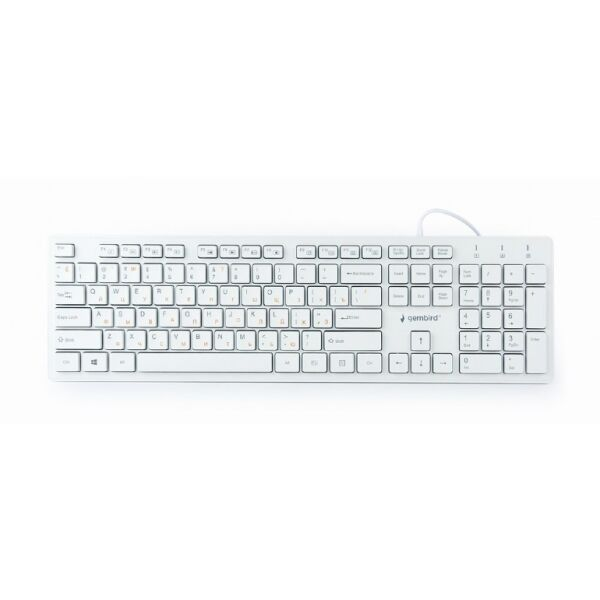 Клавиатура Gembird KB-MCH-03-W-RU