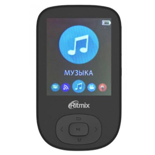MP3 плеер RITMIX RF-5100BT 4GB (черный)