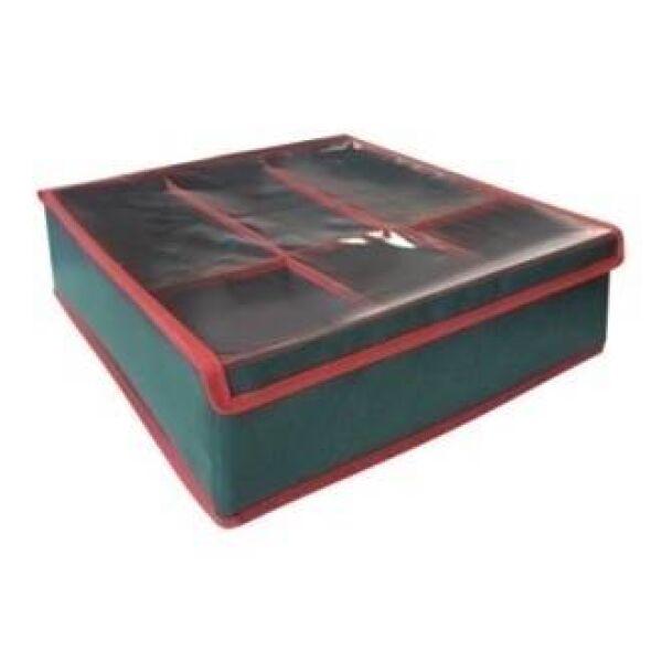 Органайзер PRIMA HOUSE НГ-15 для хранения новогодних игрушек
