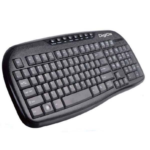Клавиатура проводная DIGION PT350MBK Black