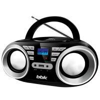 Магнитола BBK BX160BT черный металлик