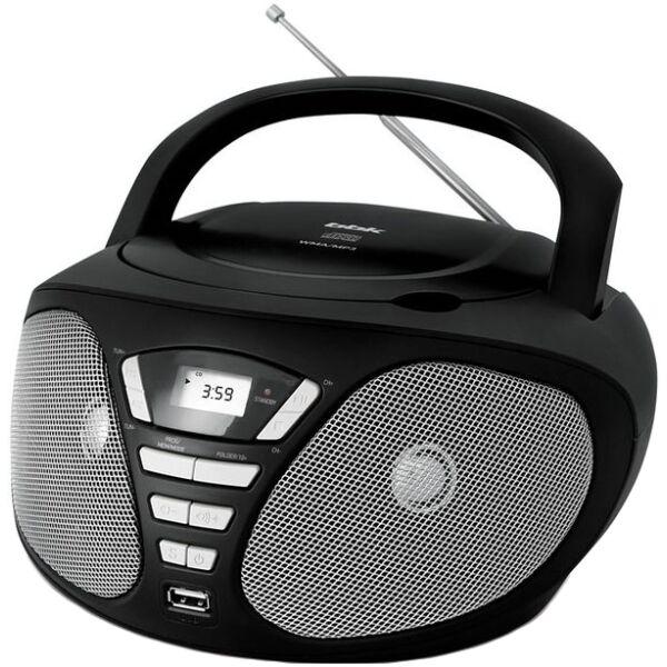 Магнитола BBK BX180U черно-серая