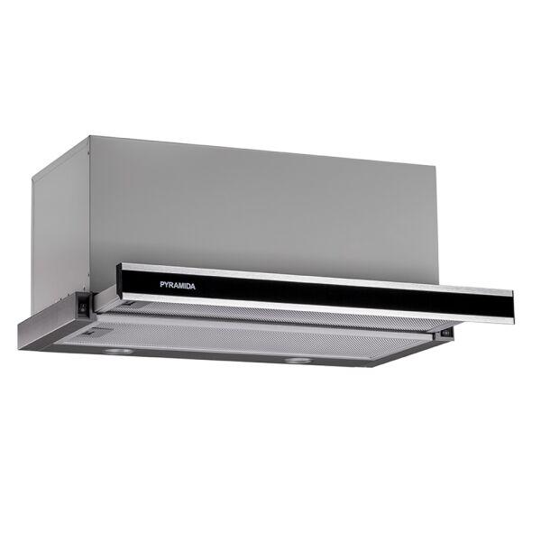 Вытяжка кухонная PYRAMIDA TL 60 (1100) G IX BL