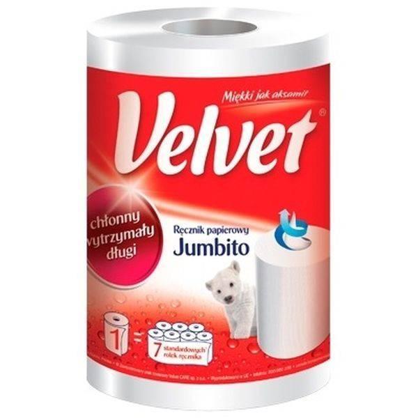 Полотенце Velvet Jumbito 1 шт.