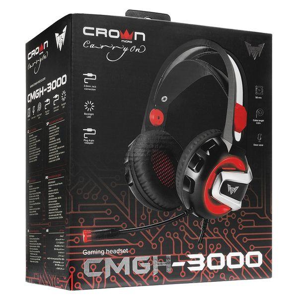 Наушники CrownMicro CMGH-3000
