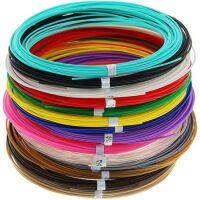 270x270-UNID Набор пластика для 3D ручек: PLA-15 (по 10м. 15 цветов)
