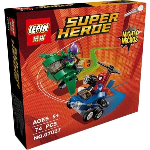 Конструктор LEPIN Spider-Man vs. Green Goblin (07027)