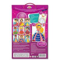 Набор для детского творчества DALIS раскраска из пластилина Кукла Катя (МС-205)