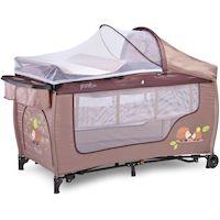 270x270-Манеж-кровать CARETERO Grande Plus (бежевый)