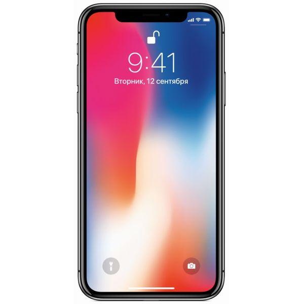 Смартфон APPLE iPhone X 64GB Space Grey RFB (FQAC2RM/A)