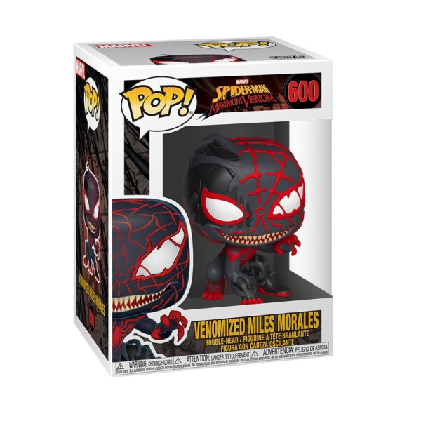 Фигурка Funko POP! Bobble: Marvel: Marvel Venom S3: Miles Morales