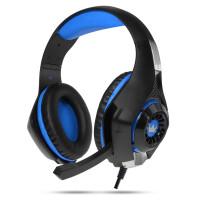 270x270-Наушники CrownMicro CMGH-102T USB (синий)