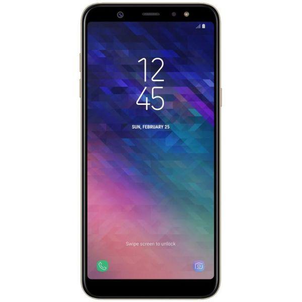 Смартфон GSM Samsung Galaxy A6+ (SM-A605F) золотой