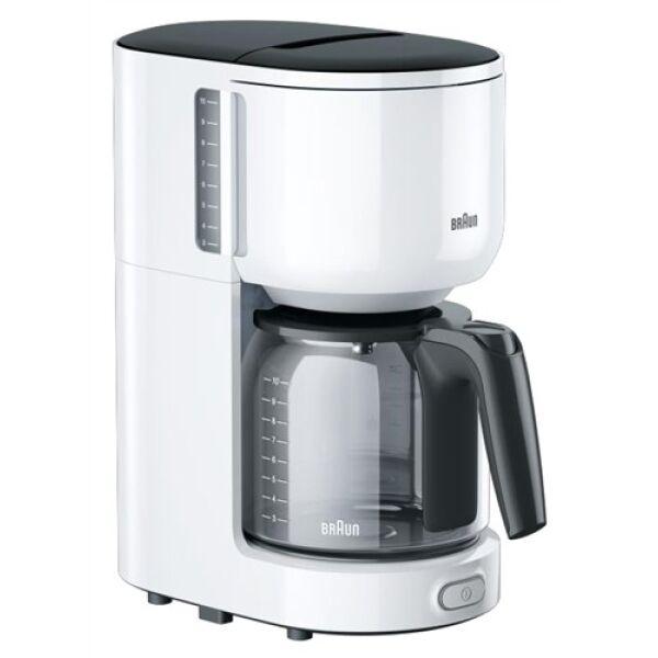 Кофеварка BRAUN KF3120 (белый)