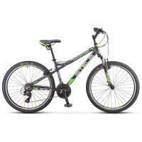 270x270-Велосипед Stels Navigator 610 V K010 (темно-серый/зеленый)