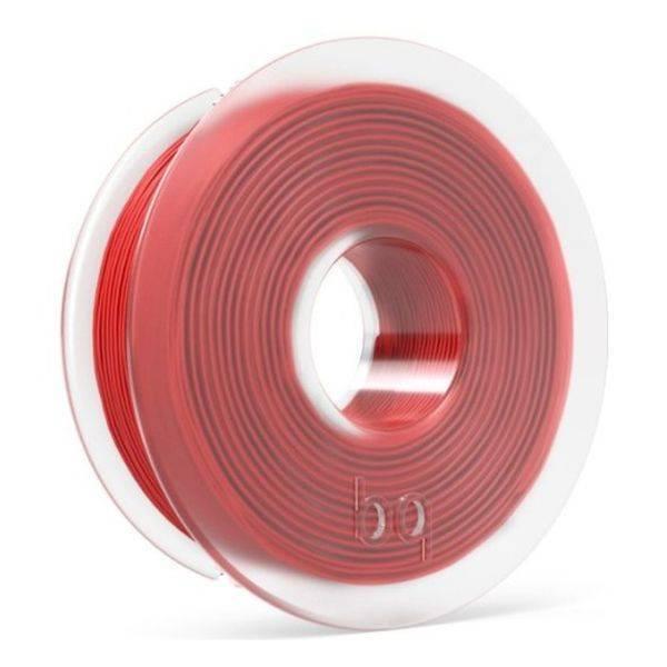 Пластик PLA для 3D печати BQ (цвет: рубиново-красный) F000137