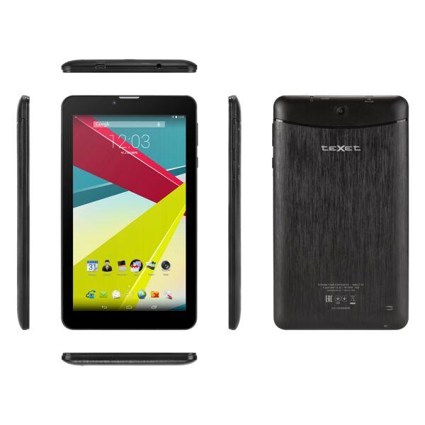 Планшетный пк TEXET TM-7849 (X-pad NAVI 7.6 3G) черный