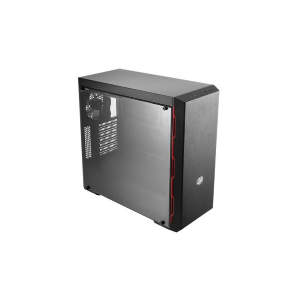 Корпус Cooler Master MasterBox MB600L Red (MCB-B600L-KA5N-S00)