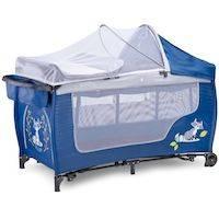 270x270-Манеж-кровать CARETERO Grande Plus (синий)