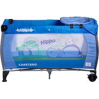 270x270-Манеж-кровать CARETERO Medio Classic (голубой)
