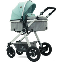 270x270-Детская коляска LORELLI Alexa 3в1 (зеленый/серый)