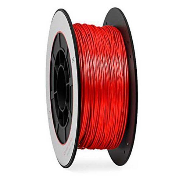 Пластик PLA для 3D печати BQ (цвет: рубиново-красный) 05BQFIL029