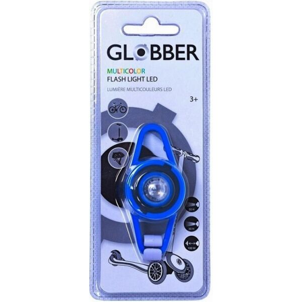 Фонарик GLOBBER 522-100 (синий)