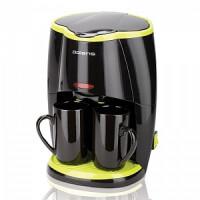270x270-Кофеварка POLARIS PCM0210 (черный/салатовый)