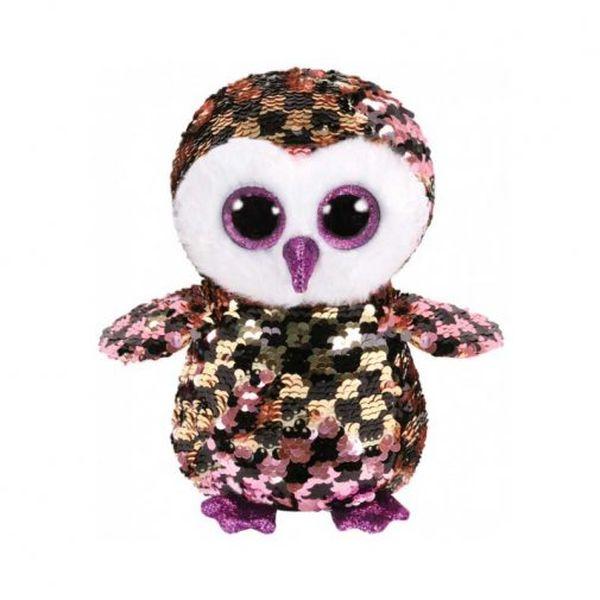 Мягкая игрушка TY INC Flippables Сова Checrs (36673)