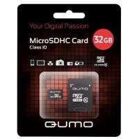 270x270-Карта памяти QUMO microSDHC (Class 10) 32GB (QM32GMICSDHC10)