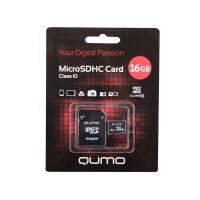 270x270-Карта памяти QUMO microSDHC (Class 10) 16GB (QM16GMICSDHC10)
