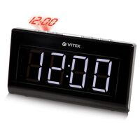 270x270-Радио-часы VITEK VT-3517 Black