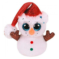 Мягкая игрушка TY INC Снеговик Flurry (36682)